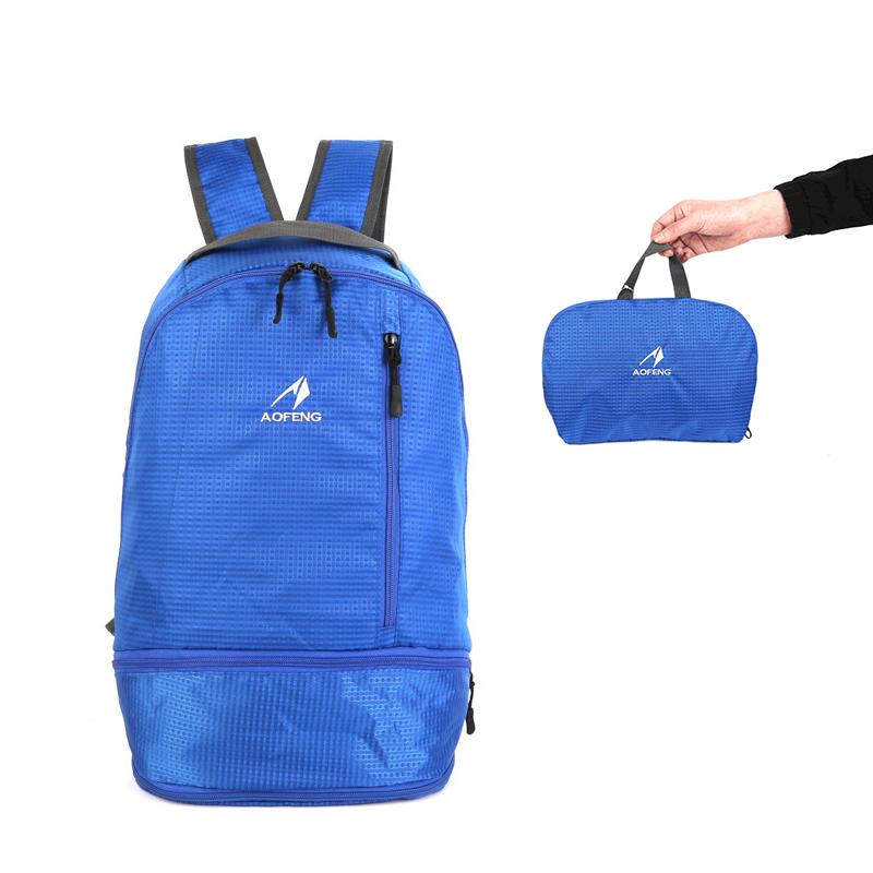 На#and#nbsp;открытом#and#nbsp;воздухе#and#nbsp;Сумка Складной рюкзак Водонепроницаемы Scratch Proof Ultralight Кемпинг Пеший туризм для альпинизма для мужчи