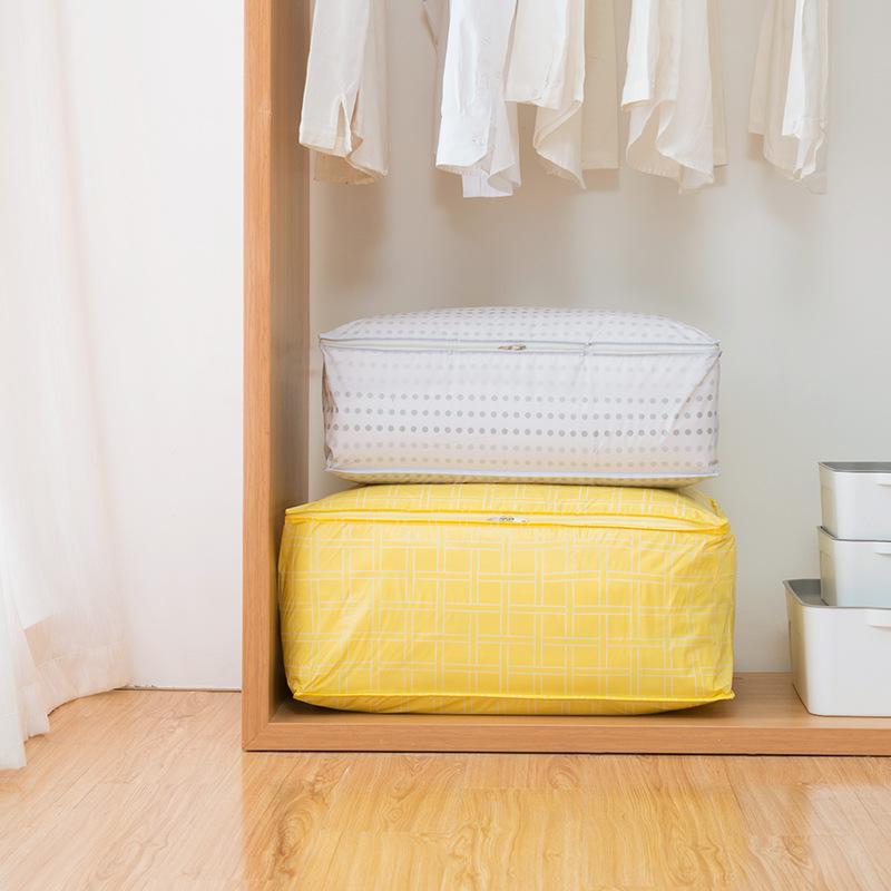 Водонепроницаемы Хранение стеганого одеяла Сумка Шкаф Молдостойкий Пылезащитный стеганый одеяло Органайзер