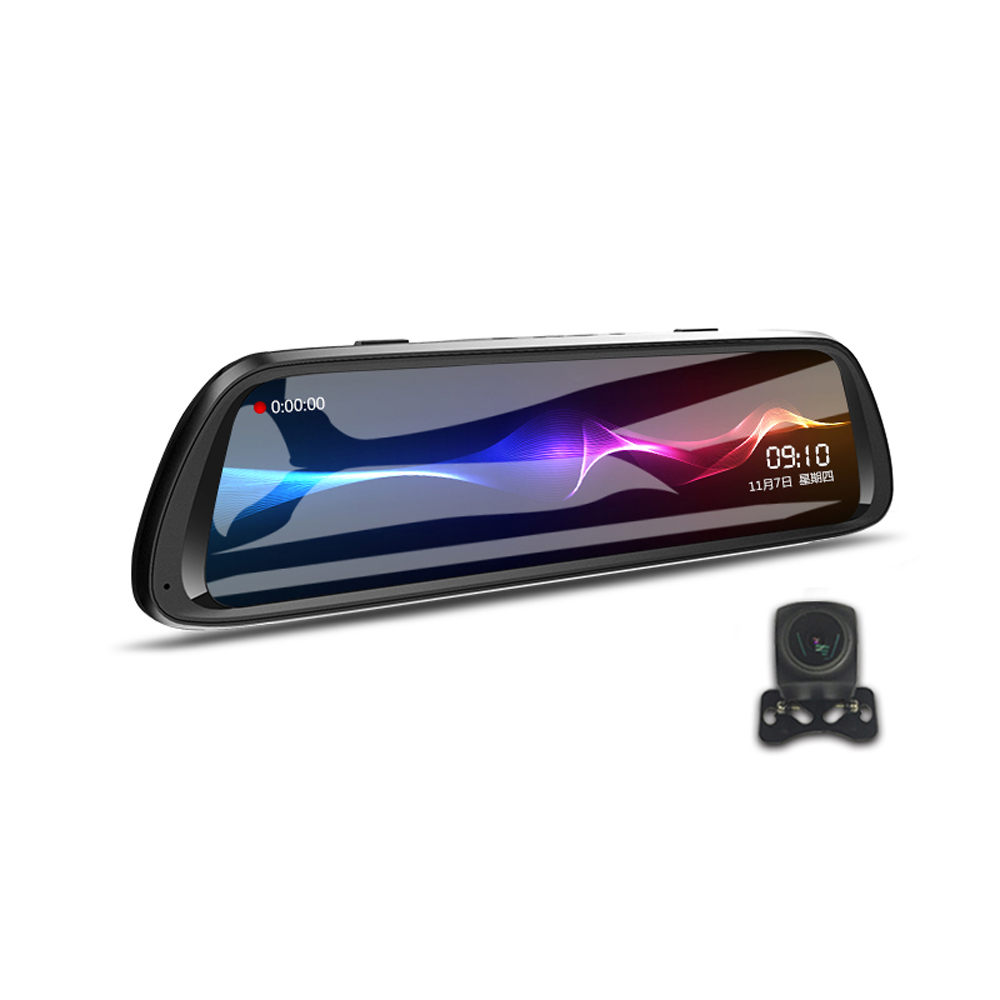 Дюймов 1080P Двойная линза Loop Recording Парковка Мониторинг Авто Видеорегистратор