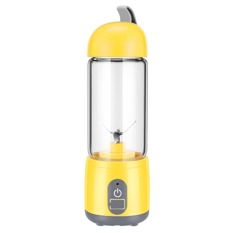 KJ-60U02ПортативныйUSBЗарядкаЭлектрическая Фруктовая Соковыжималка Бытовой Молочный коктейль Блендер 420 мл Mix Cup