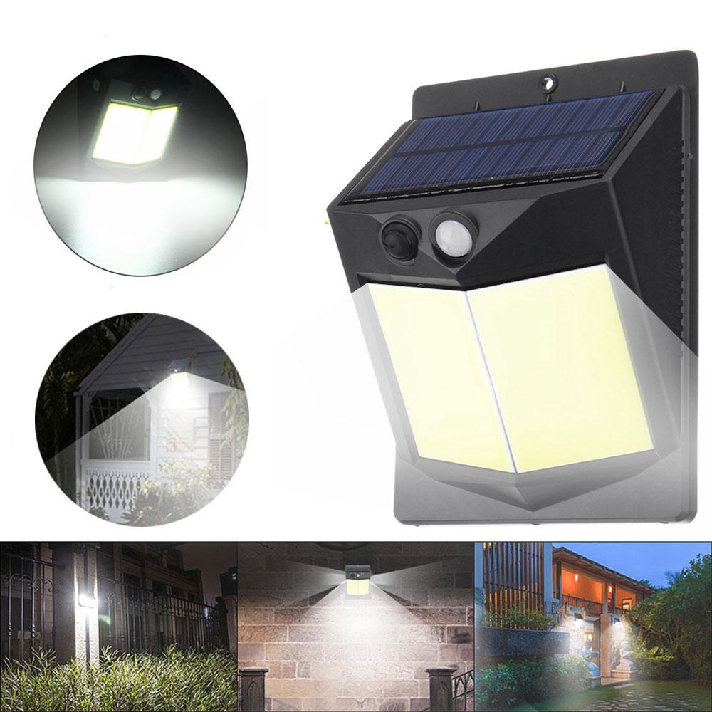 Солнечная Power Light PIR Motion Датчик Безопасность На открытом воздухе Сад Стена Лампа