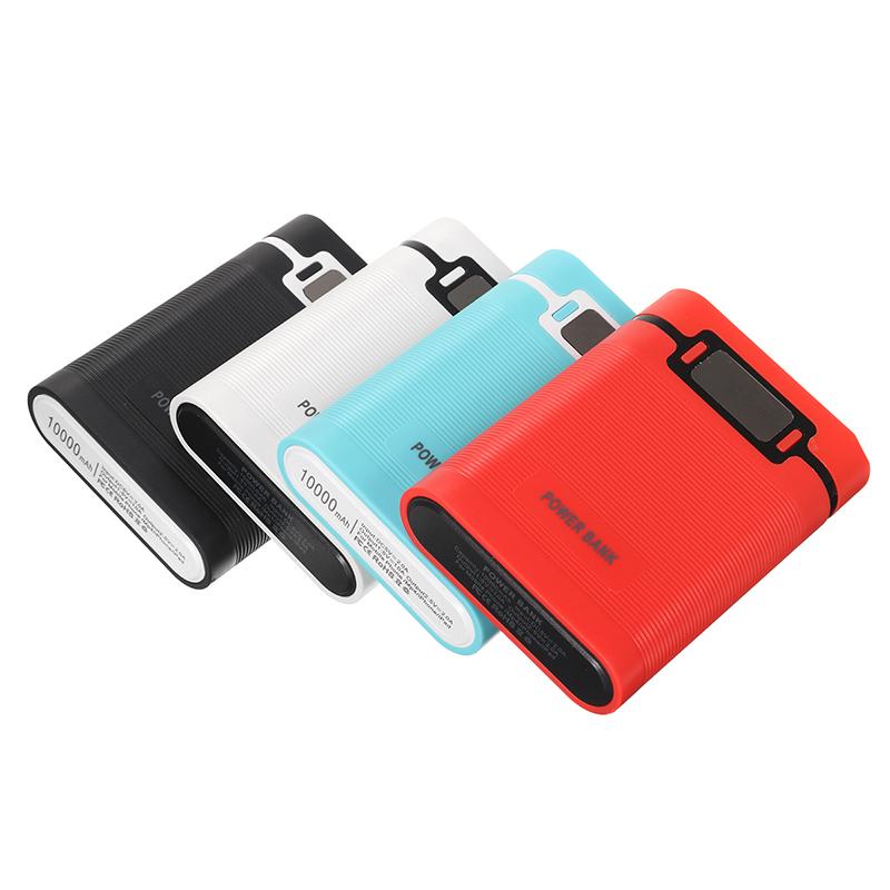Портативный блок питания 10000mAh с OLED Дисплей Световой индикатор для Samsung S8 iphoneX 8 / 8Plus Xiaomi mi5 mi6