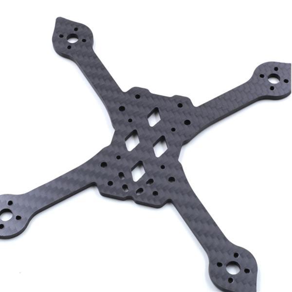 Дрон Запасная часть 4 мм Углеродное волокно Нижняя часть Пластина