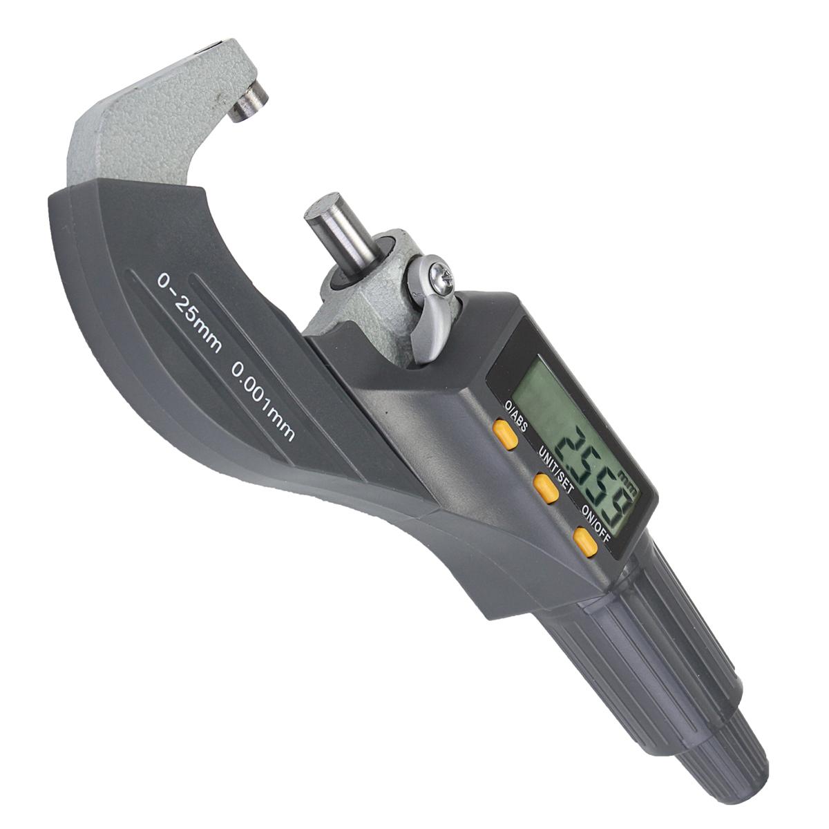 Электронный цифровой микрометр Профессиональный 0-25 мм Вне 0-1inch / 0.00005inch