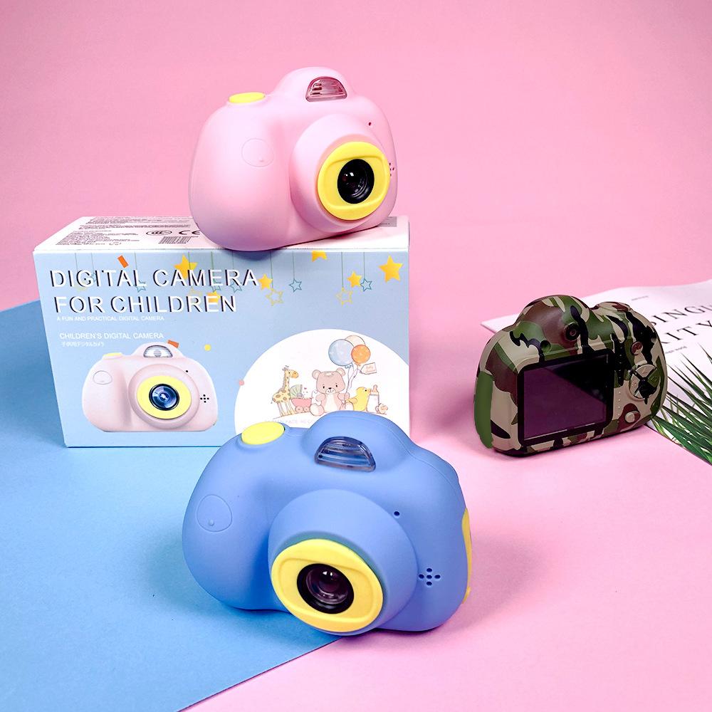 Дети камера HD Цифровая 800 P TF Карта Видеокамера USB Аккумуляторная Раннего Образования Головоломки Новинки Игрушки