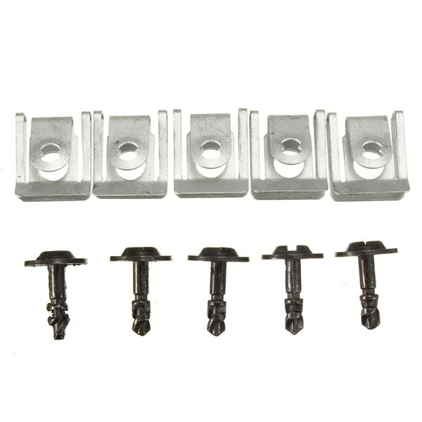 Двигатель Зубчатая передача Коробка Зажимы для коробки передач Крепежные изделия Крепежные детали для BMW E39 7 E38