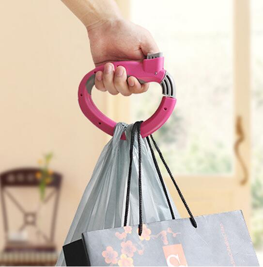 ВыдвижнаяпортативнаяподвеснаяручкаМногофункциональнаявытяжка D-type Devices Shopping Carry Сумка Carrier Holder