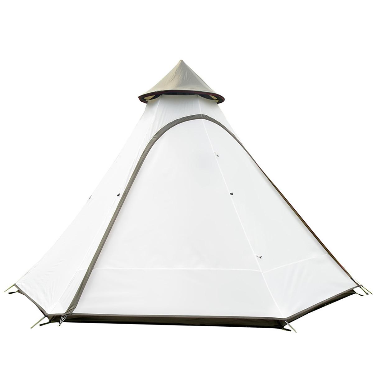 человекаНаоткрытомвоздухеКемпинг Палатка в индийском стиле Пирамида Семья Большой навес Зонт