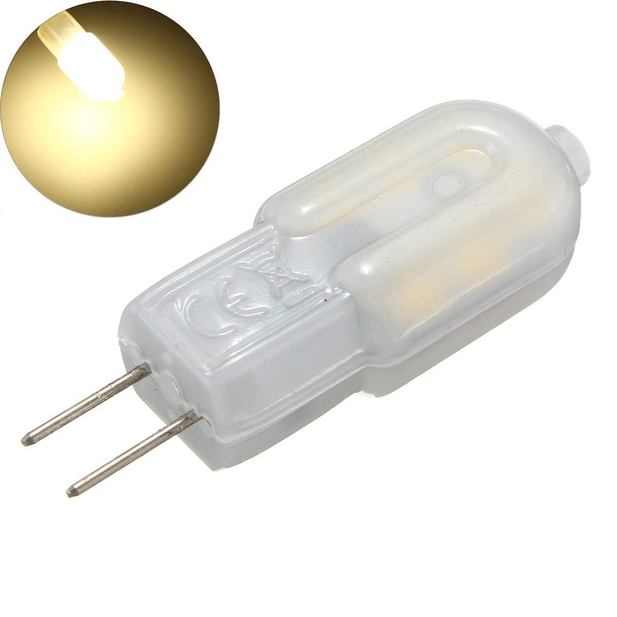ШТ. G4 2 Вт Нерегулируемый SMD2835 Молоко Крышка Натуральный Белый 12LED Лампочка для Крытого Дома DC12V