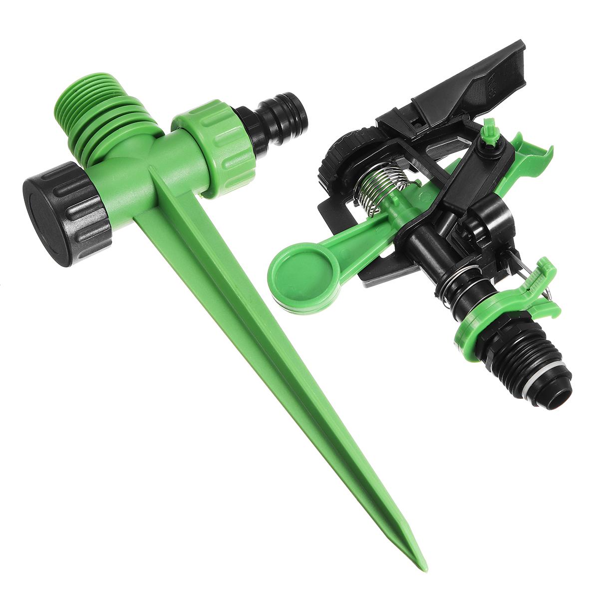 Порошок для воды с вращающейся водой на 360 градусов Сад Спринклерный спринклерный спринклеры для полива ABS + PP