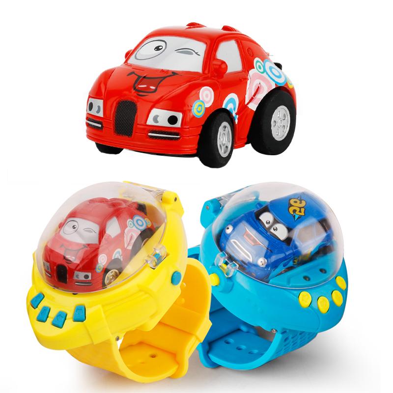 Мини-4каналаSmartWatchG-SensorControl RC Автомобили Игрушки для детей