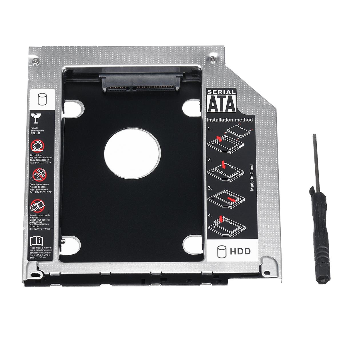 Ноутбук Жесткий диск Отсек для жесткого диска SSD Адаптер Caddy Converter для MacBook Pro 13\