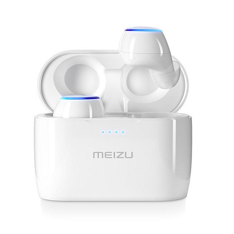 Оригинал Meizu POP TW50 True Wинфракрасныйeless Dual Bluetooth Наушник Touch Stereo Водонепроницаемы Спортивные наушники-вкладыши с зарядкой Чехол для Apple Xiaomi Huawe