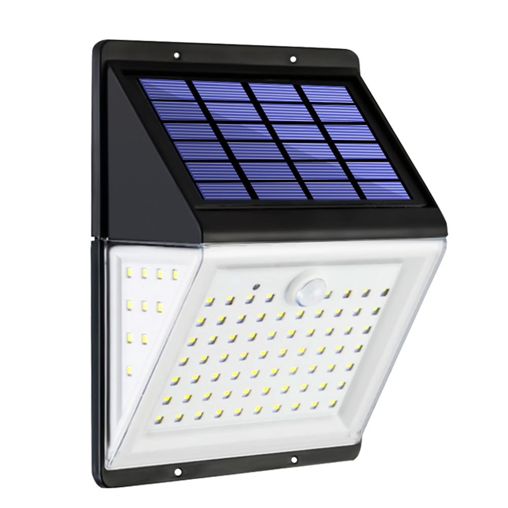 Солнечная Power Light PIR Motion Датчик Сад Безопасность На открытом воздухе Двор Стена Лампа