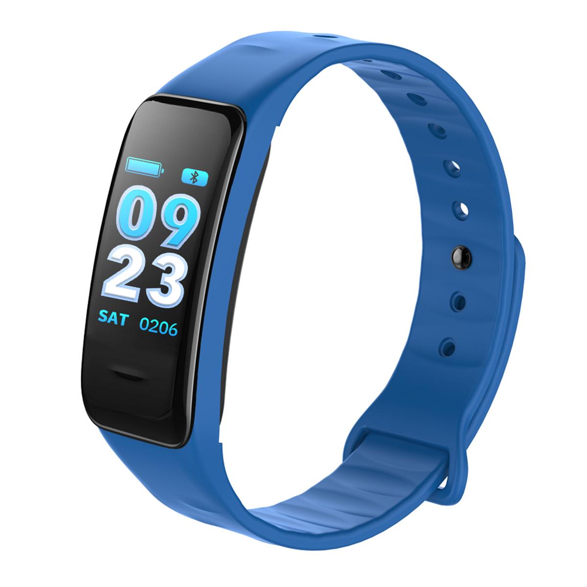 Цветной экран Сердце Оценить кислородное давление IP67 Водонепроницаемы Smart Bracelet