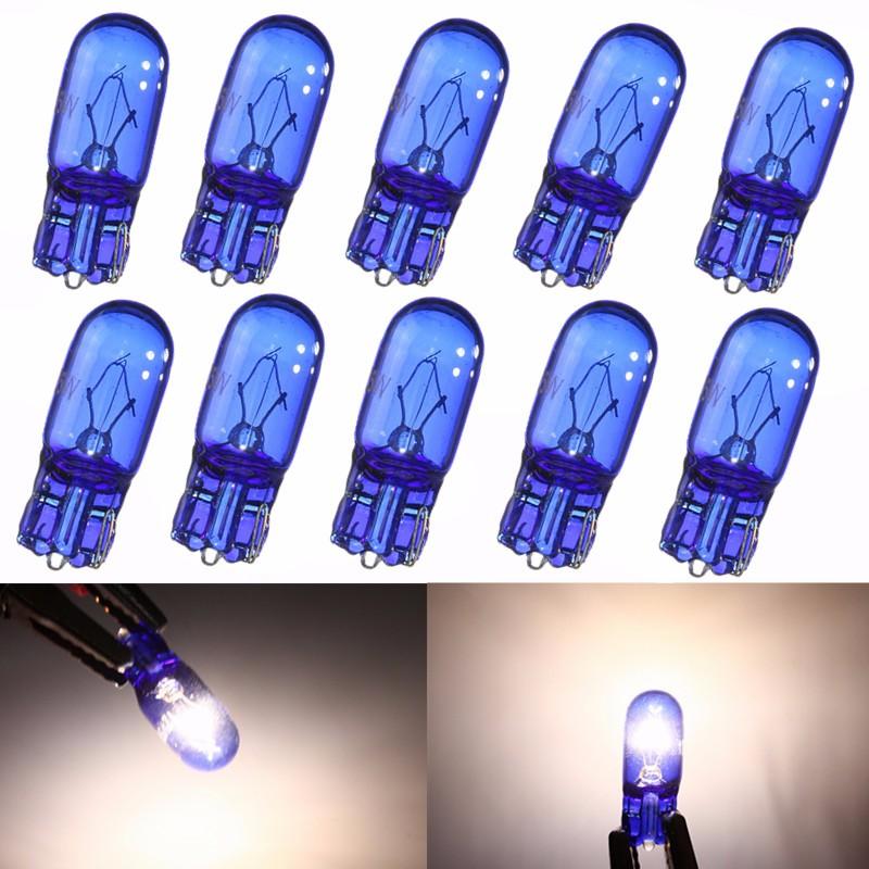 Шт W5W / T10 5W Супер яркий белый свет Ксеноновые лампы бокового света Ширина Лампа 12В