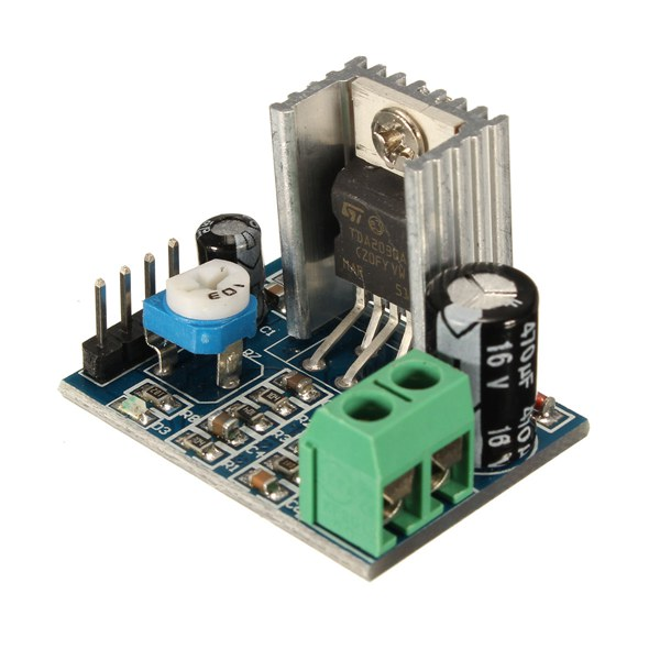 Одного источника питания модуль аудио усилитель доска TDA2030A 6-12v
