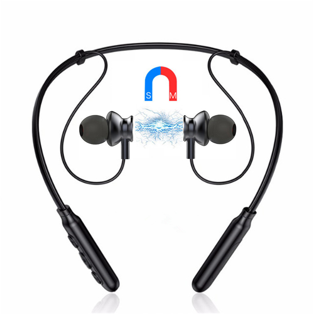 B22SWirelessBluetoothНаушникМагнитный шумоподавляющий стереофонический наушник с микрофоном