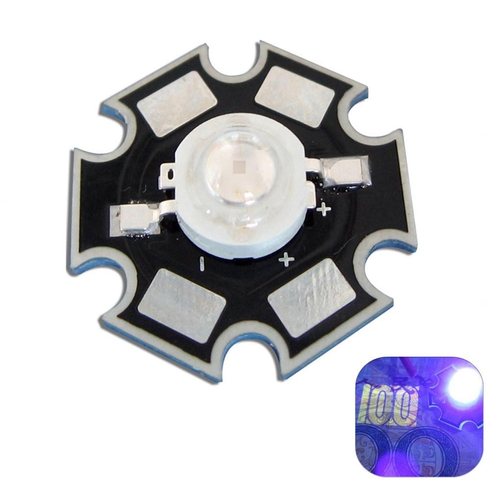 Ультрафиолетовая LED шарик света DIY лампы чип 20мм Star Base
