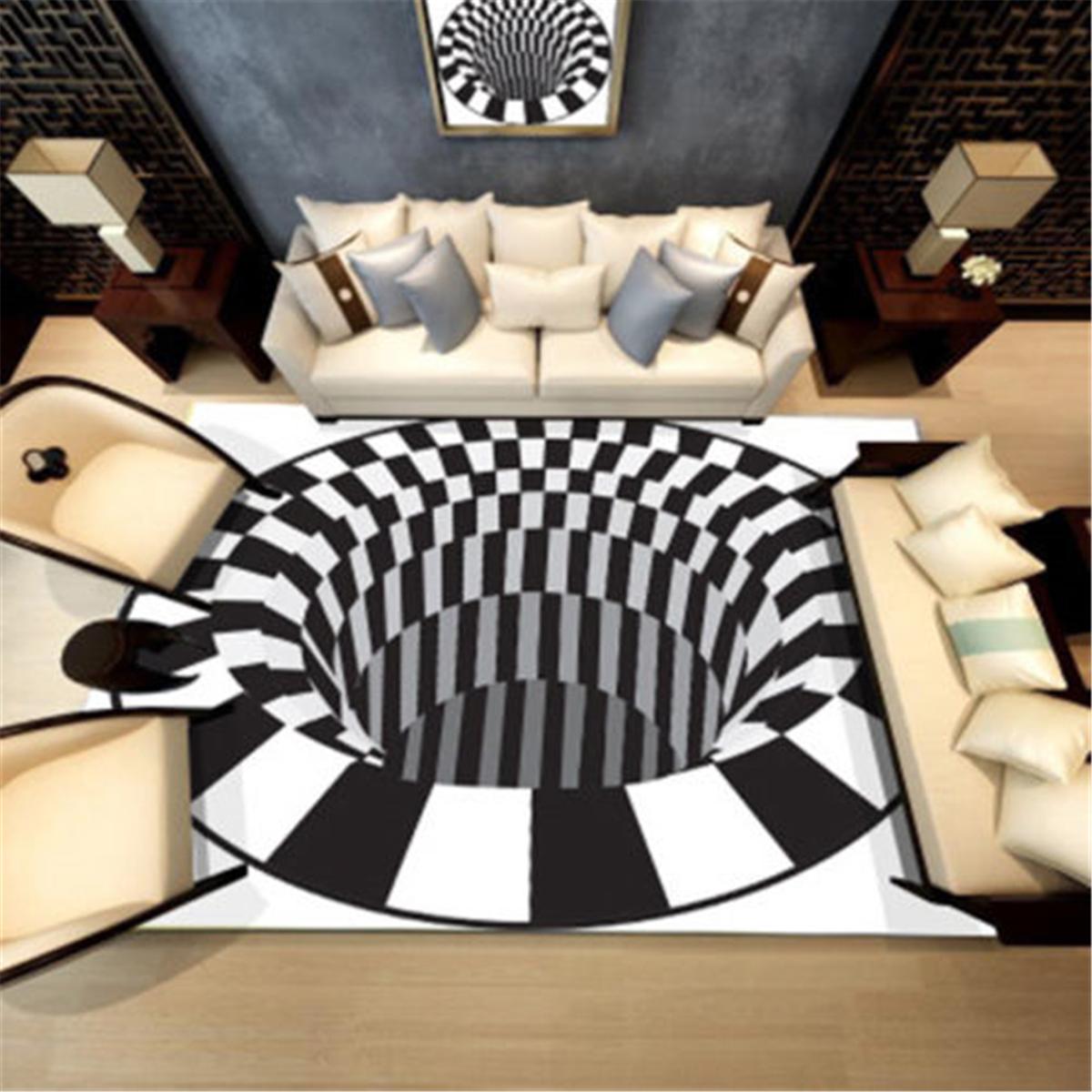 Коврики в стиле 3D Современный ковер Коврик для гостиной Гостиная Нескользящие ковры Украшения для дома