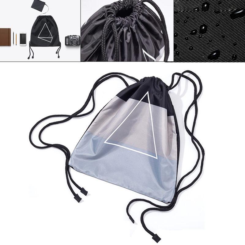 Водонепроницаемы Drawstring Сумка Мода Легкий портативный рюкзак для путешествий и отдыха от xiaomi youpin