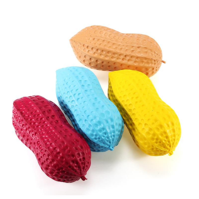 Арахис 14см Медленный Восходящий аромат Коллекция подарков Декор Мягкая игрушка Squeeze