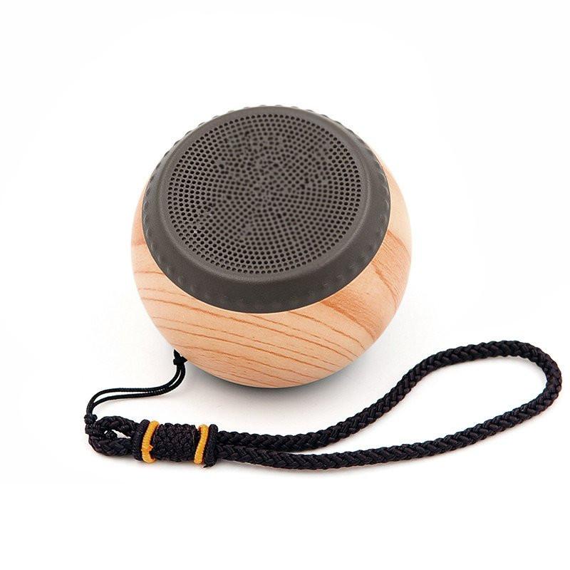 Универсальный мини-деревянный беспроводной Bluetooth Портативный Outdooors Hands Free Спикер Стерео сабвуфер