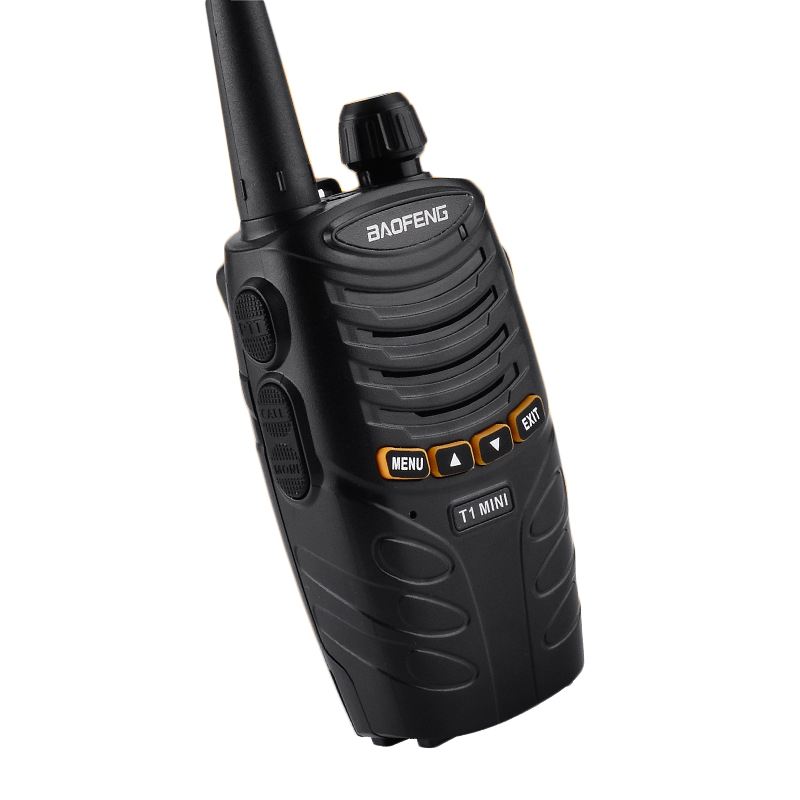 BF-T1MI16каналов400-470МГц Mini Ultralight Hotel Civilian Handheld Радио Walkie Talkie