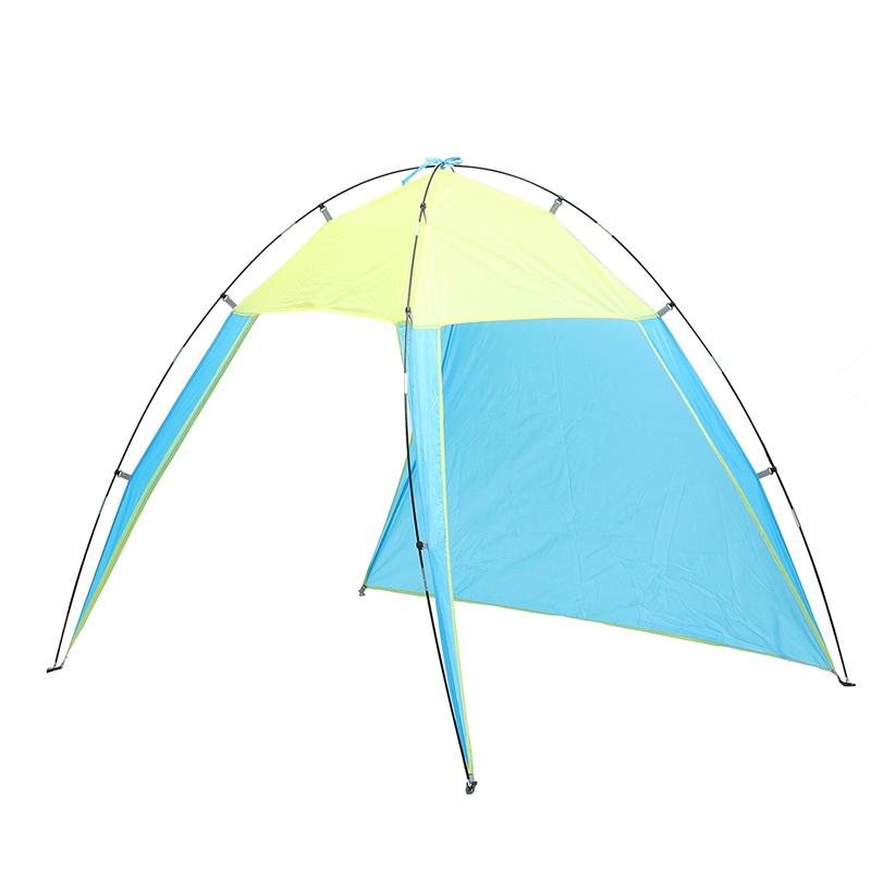 Наоткрытомвоздухе5-8ЛюдиТреугольник Пляжный Палатка Pop Up Кемпинг Anti-UV Sun Shade Shelter Canopy