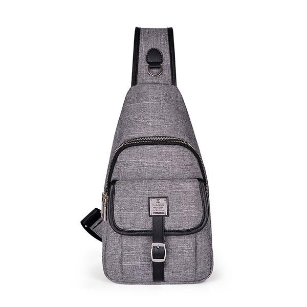 Мужчины холст путешествия сумка талии женщин на открытом воздухе спорт сумка на плечо