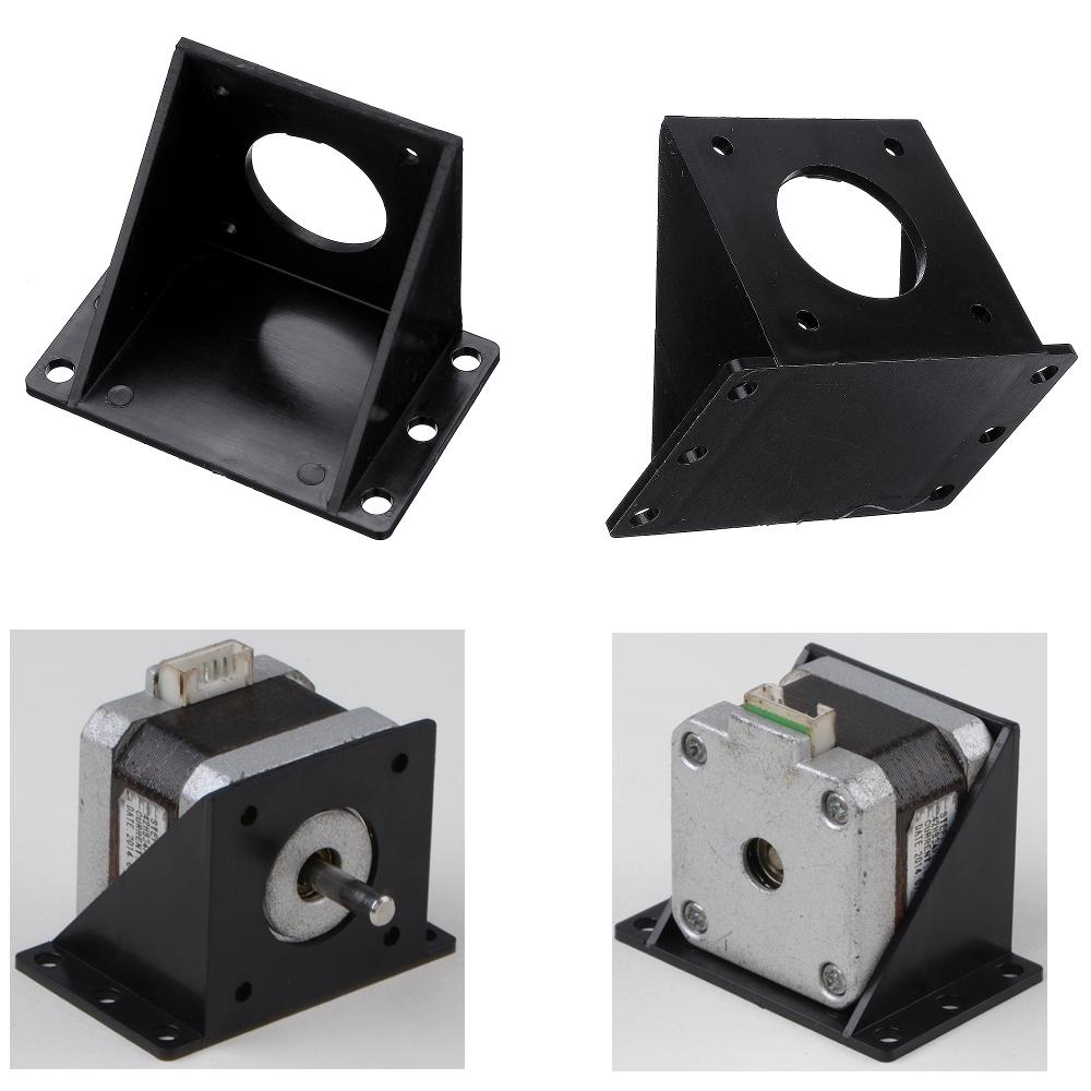 Мм L-образный пластиковый монтажный кронштейн для NEMA17 степпера Мотор 3D-принтер