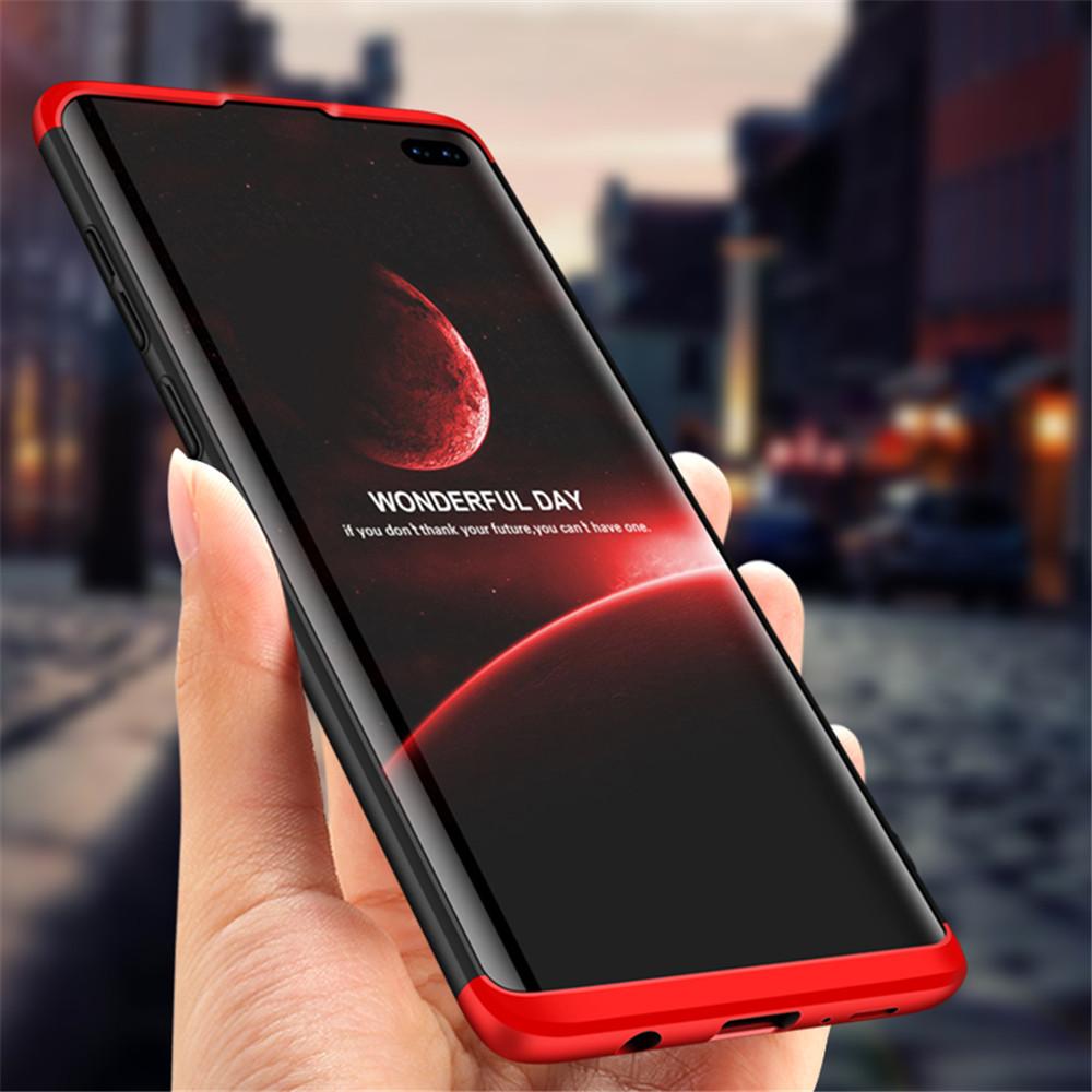 ™3в1,двойное погружение, жесткий чехол 360 °, жесткий диск, ударопрочный, защитный Чехол для Samsung Galaxy S10 Plus / S10+