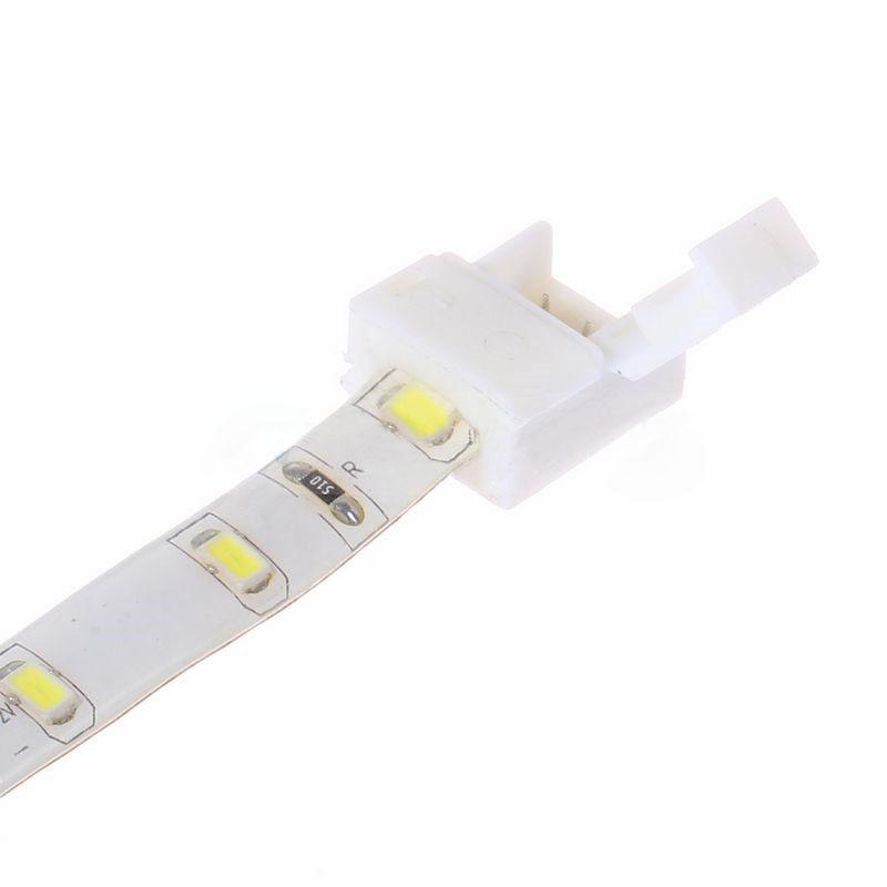 Мм / 10мм 2 -контактный разъем разьемное для одного цвета водонепроницаемый LED полосы
