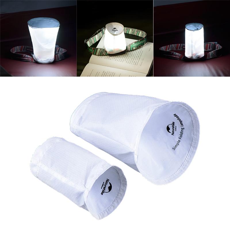 Профессиональные светодиодные фары Крышка лампы Тень Ultralight Портативный Открытый Tent Light Cover для рыбалки скалолазанию
