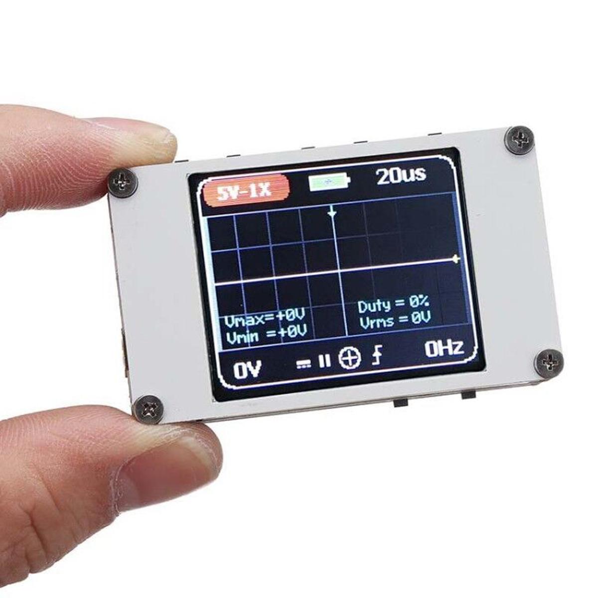 Мини-карманный портативный цифравой ультрамаленький осциллограф 1M Пропускная способность 5M с частотой дискретизации Осциллограф Набор