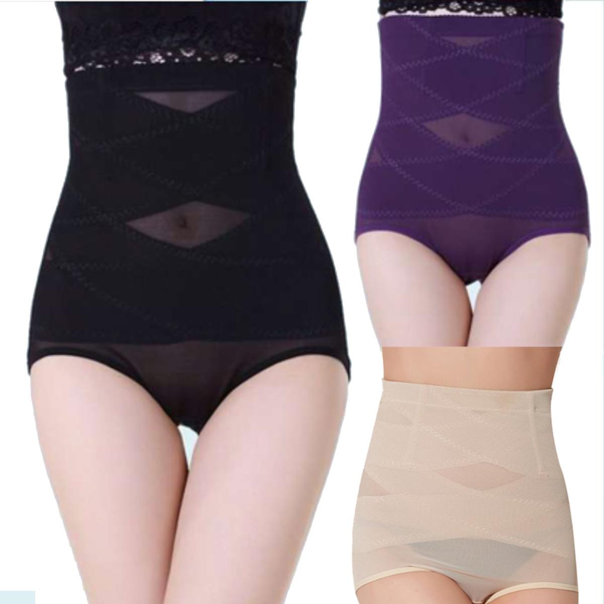 Женская спортивная талия обучение грудью управления формирователь животик похудения брюки