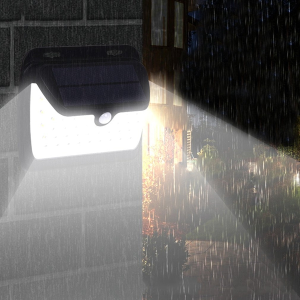 Солнечная Power Light Датчик #and# PIR Motion Wall Лампа Водонепроницаемы для На открытом воздухе Сад Путь