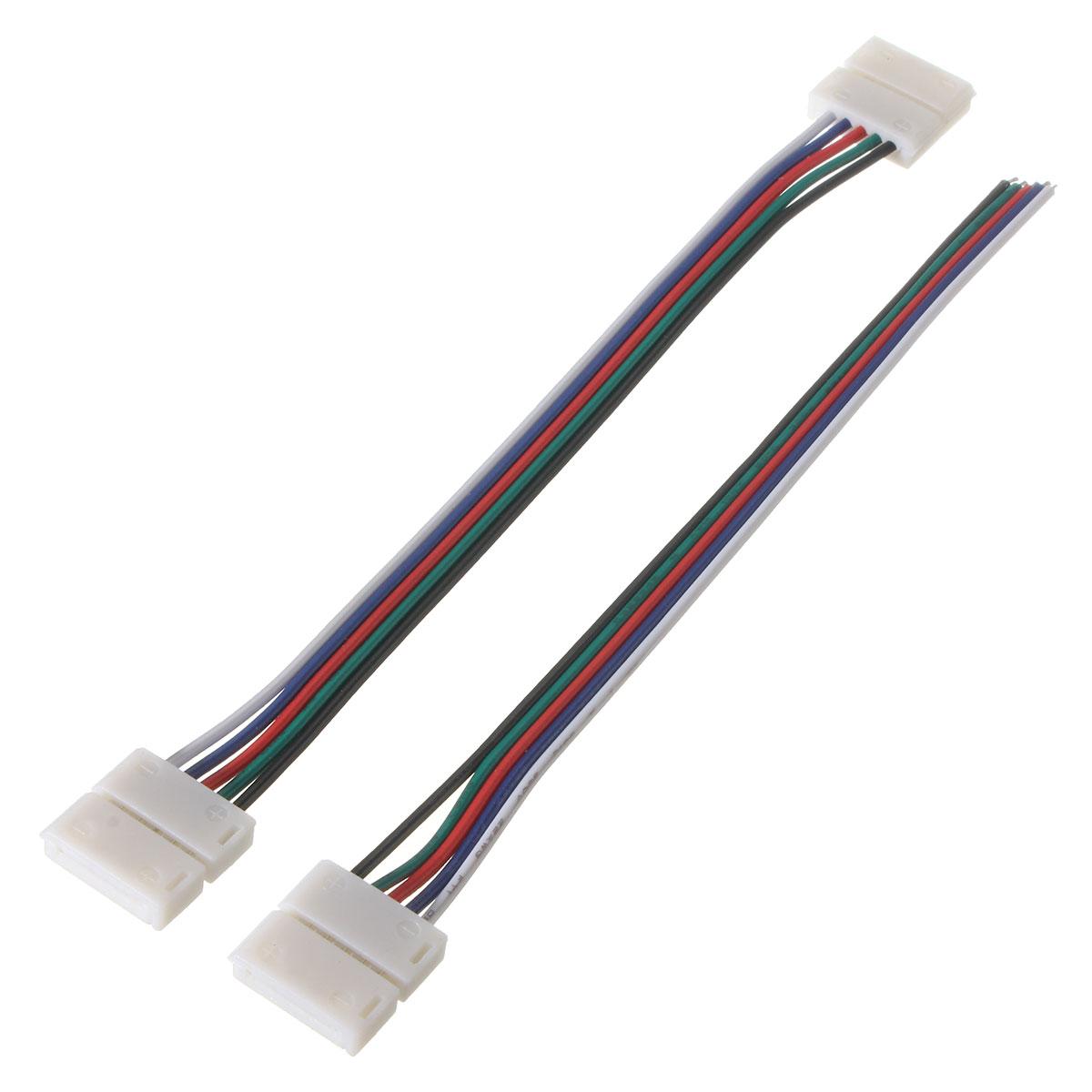 Контактный разъем 12мм 15см кабель для RGBW полосы света