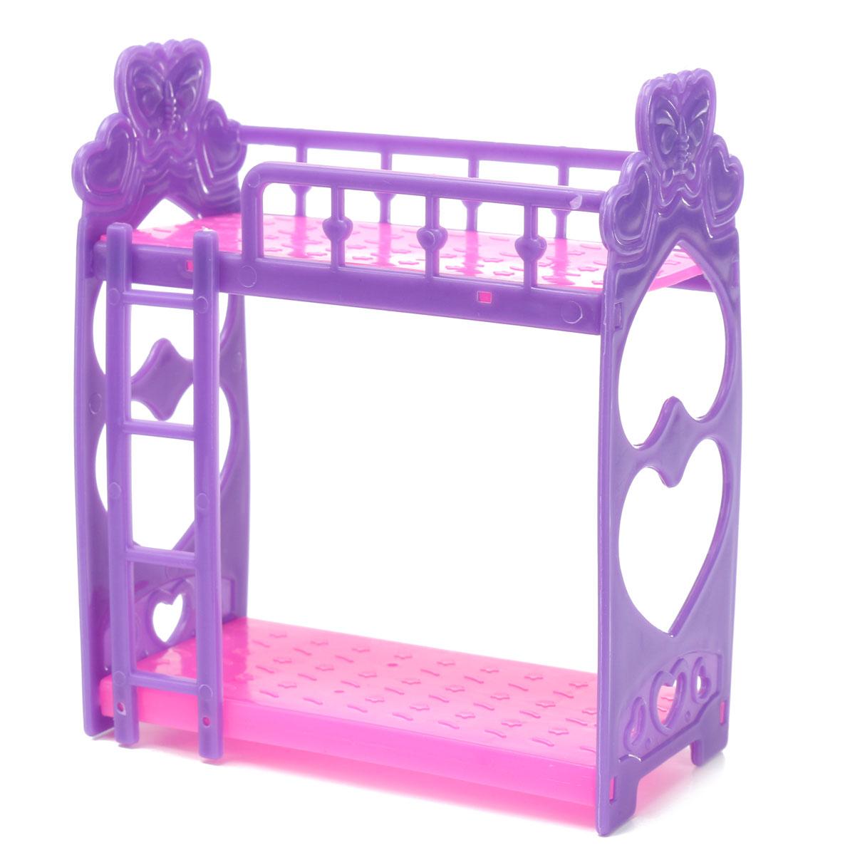 Миниатюрный двуспальная кровать игрушки для кукольного домика мебель украшения