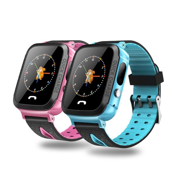 Дистанционный Монитор IP67 SOS LBS Местоположение GSM камера Smart Watch