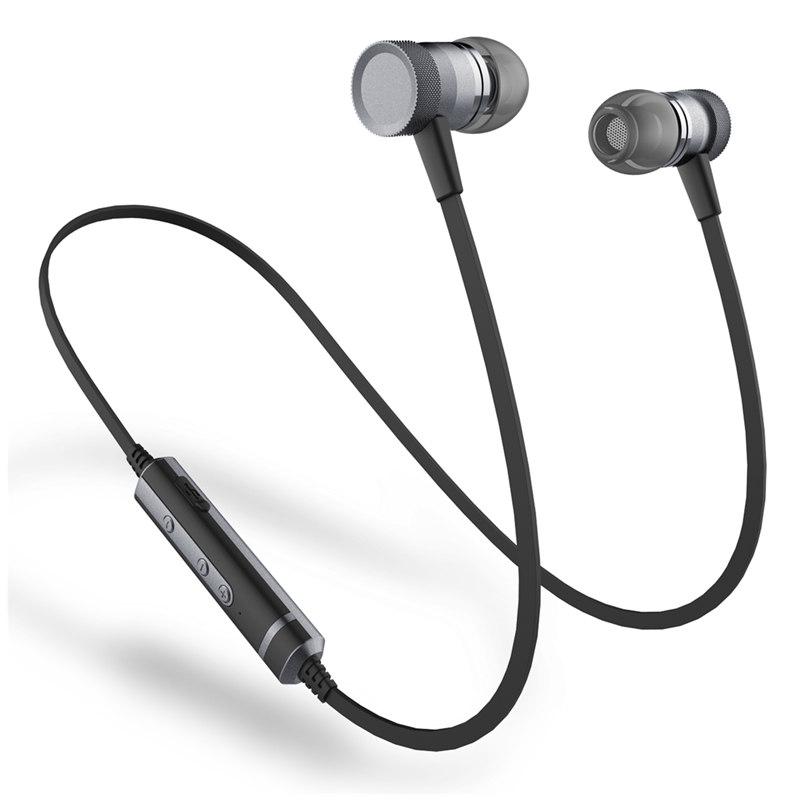 H6WirelessBluetoothНаушникМагнитный бас IPX4 Водонепроницаемы Спортивная гарнитура Наушникs с микрофоном