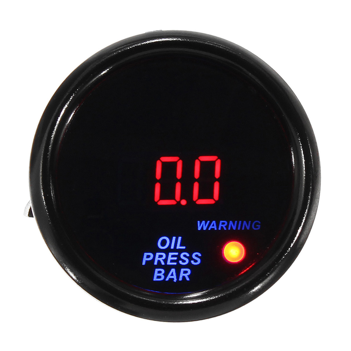 Дюймов 52 мм 0 - 10 бар LED Цифровой Дисплей Масло Манометр