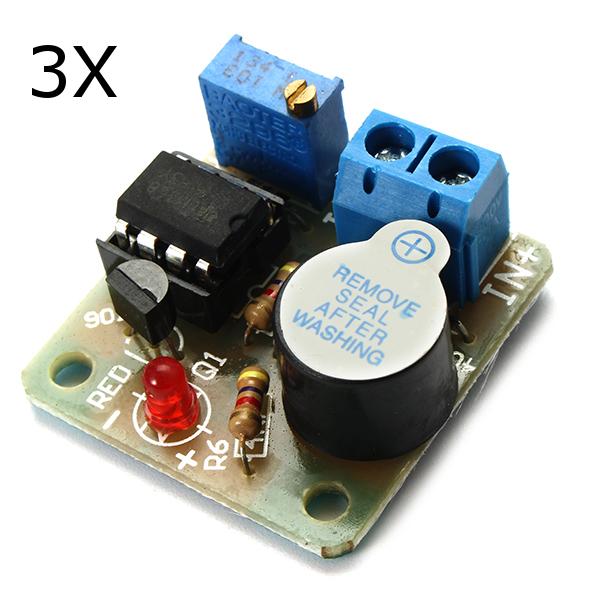 Батарея Модуль защиты от звуковой и световой сигнализации от переразрядной платы