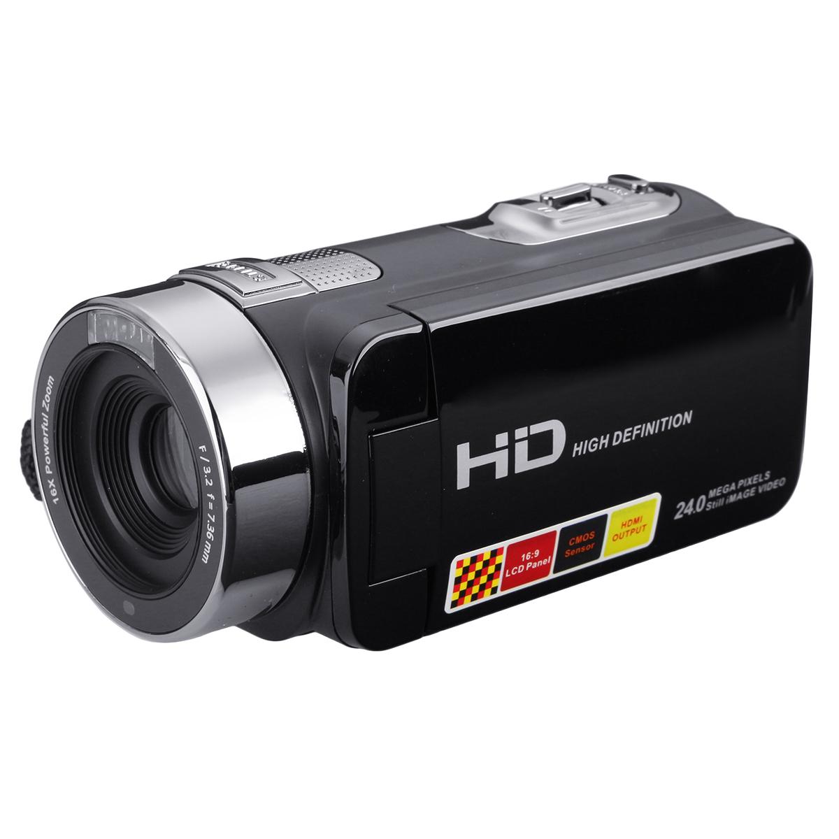 Видеокамера Ночная съемка 24MP Цифровая камера С Дистанционное Управление