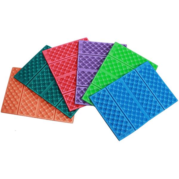 Открытый портативный легкий сотовый массаж в четыре раза влагостойкий сингл XPe пены маленький подушка