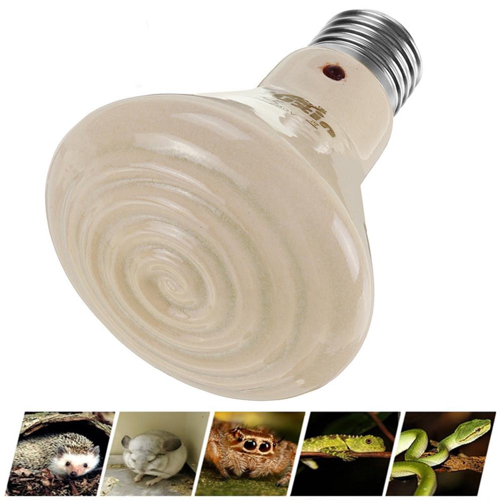 Вт 75 Вт 100 Вт 150 Вт Керамический Инфракрасный Рептильный Излучатель Нагреватель Лампа Pet Лампа для Черепахи AC220-240V