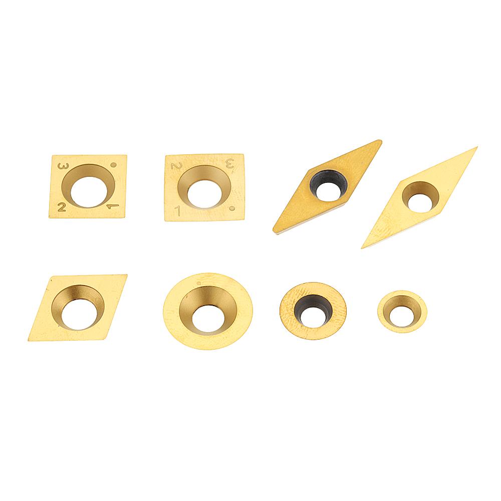 Фрезерныйстанокствердосплавнымнапылениеми титановым покрытием Drillpro для токарной обработки древесины Инструмент Деревообработка