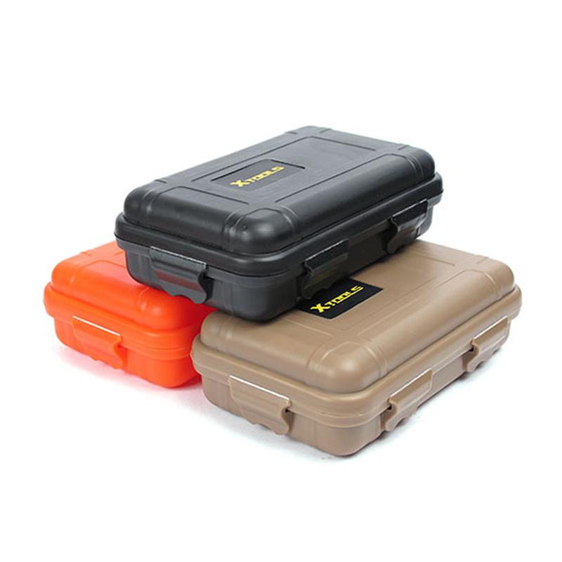 Пластик Кемпинг Airtight Survival Коробка Контейнер На открытом воздухе Водонепроницаемы Коробка Travel Shockproof Storage Коробка