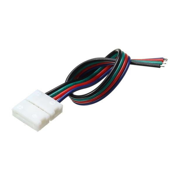 Мм ширина печатной платы разъем solerless провод 4-контактный разъем для не-водонепроницаемый RgB LED полосы
