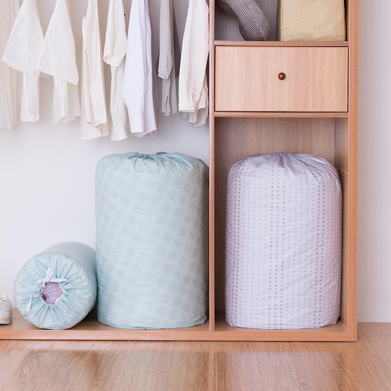 Организация PEVA Стеганое одеяло на шнурке Сумка Стеганое одеяло Хранение Сумка Бытовые влагостойкие стеганые вещи Одеяло Сумка
